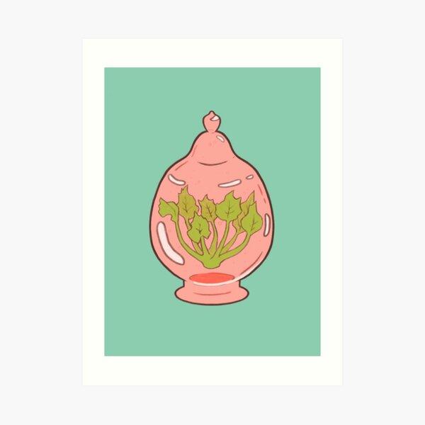 Magic Terrarium Art Print