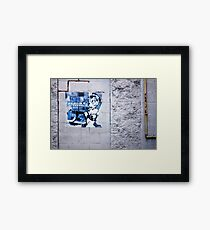 Downtown Detective Framed Print