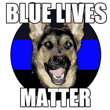 Blue Lives Matter  2 by saltypro