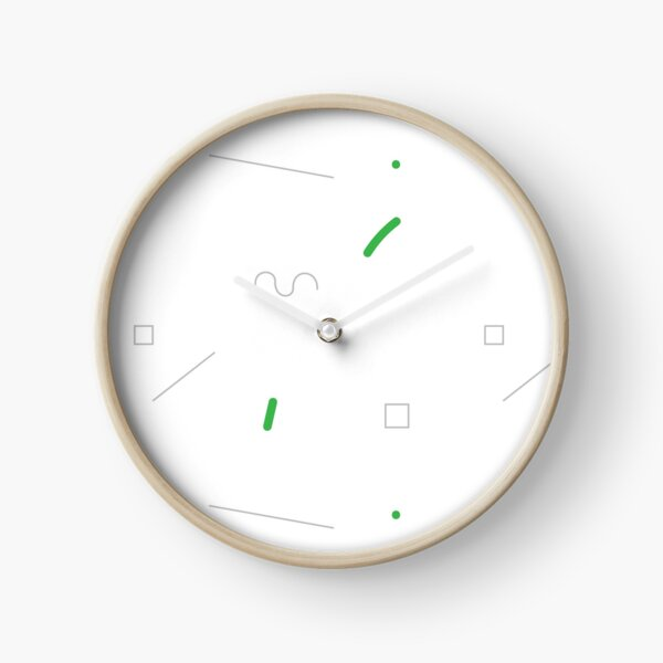Simple abstract geometry Clock