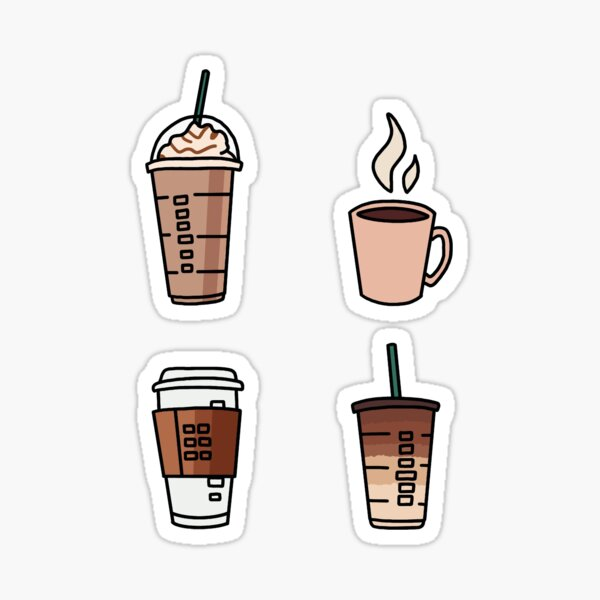"Coffee ""Sticker Pack"" Sticker"