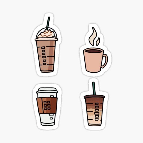 "Kaffee ""Sticker Pack"" Sticker"