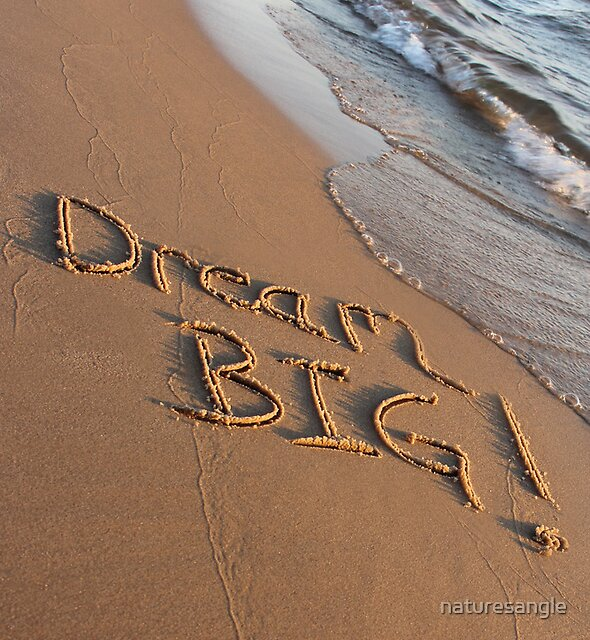 Dream Big by naturesangle