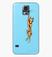 Clingy Red Miniature Pinscher | Min Pin Case/Skin for Samsung Galaxy