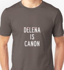 Delena is canon (white) Unisex T-Shirt