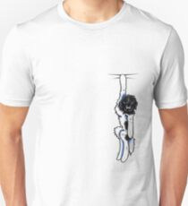 Clingy Landseer Newfie Unisex T-Shirt