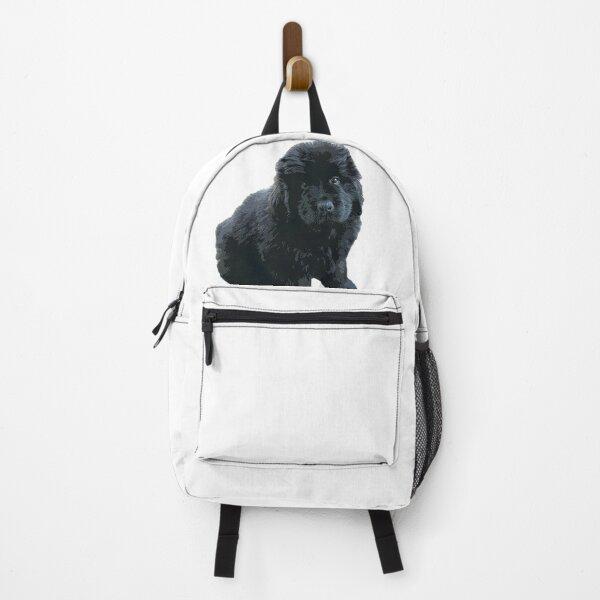 Newfoundland Puppy Dog Backpack