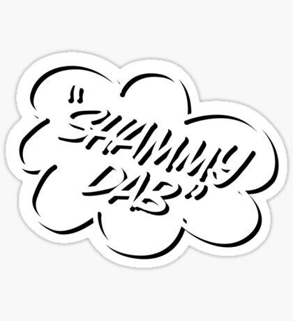 Shammy Dab Sticker