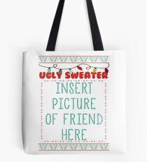 Ugly Christmas Sweater Tote Bag