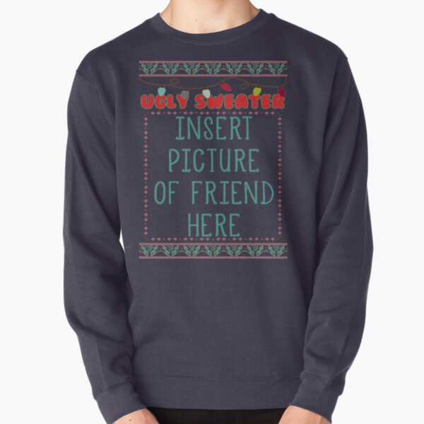 Ugly Christmas Sweater Pullover Sweatshirt