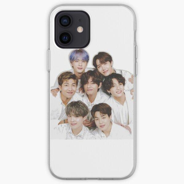 BTS-Gruppe iPhone Flexible Hülle