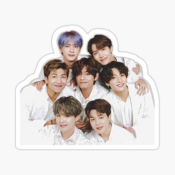 BTS group Sticker
