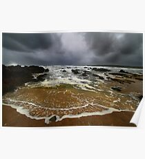 Elements Series - StormSurge, Freshwater West Poster