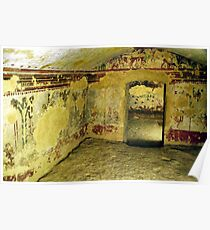 Etruscan Tomb-Tarquinia, Italy Poster
