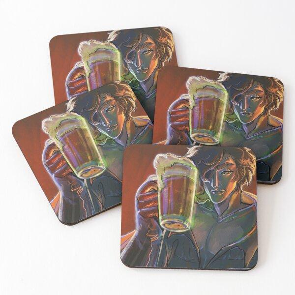 Drink with Me - Dr. Devorak Coasters (Set of 4)