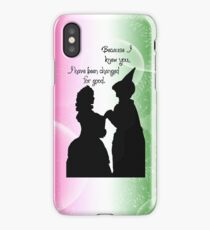 Because I Knew You iPhone Case