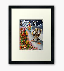 Fifties Science Fiction Framed Print
