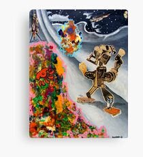 Fifties Science Fiction Canvas Print