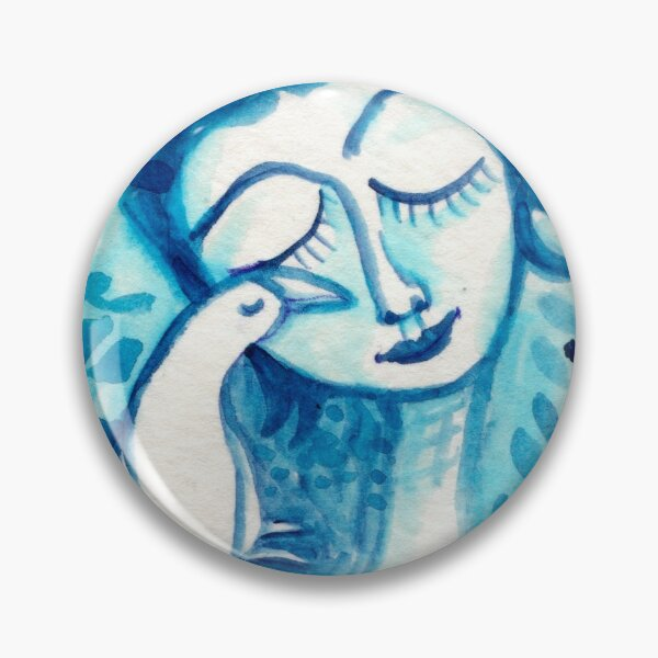 Way To Blue Pin