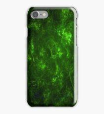 Fire - Green iPhone Case/Skin