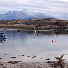 The Firth of Lorne at Dunbeg by Christine Smith