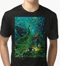 shipwreck Tri-blend T-Shirt