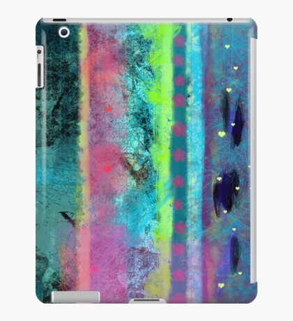Climbing after rain iPad Case/Skin