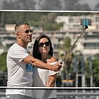 Selfie on a stick by awefaul