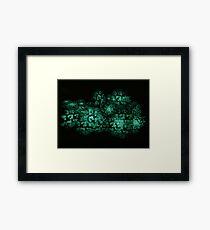 ©DA City Of Jade Fractals Framed Print