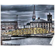 The Docks Sunderland Poster