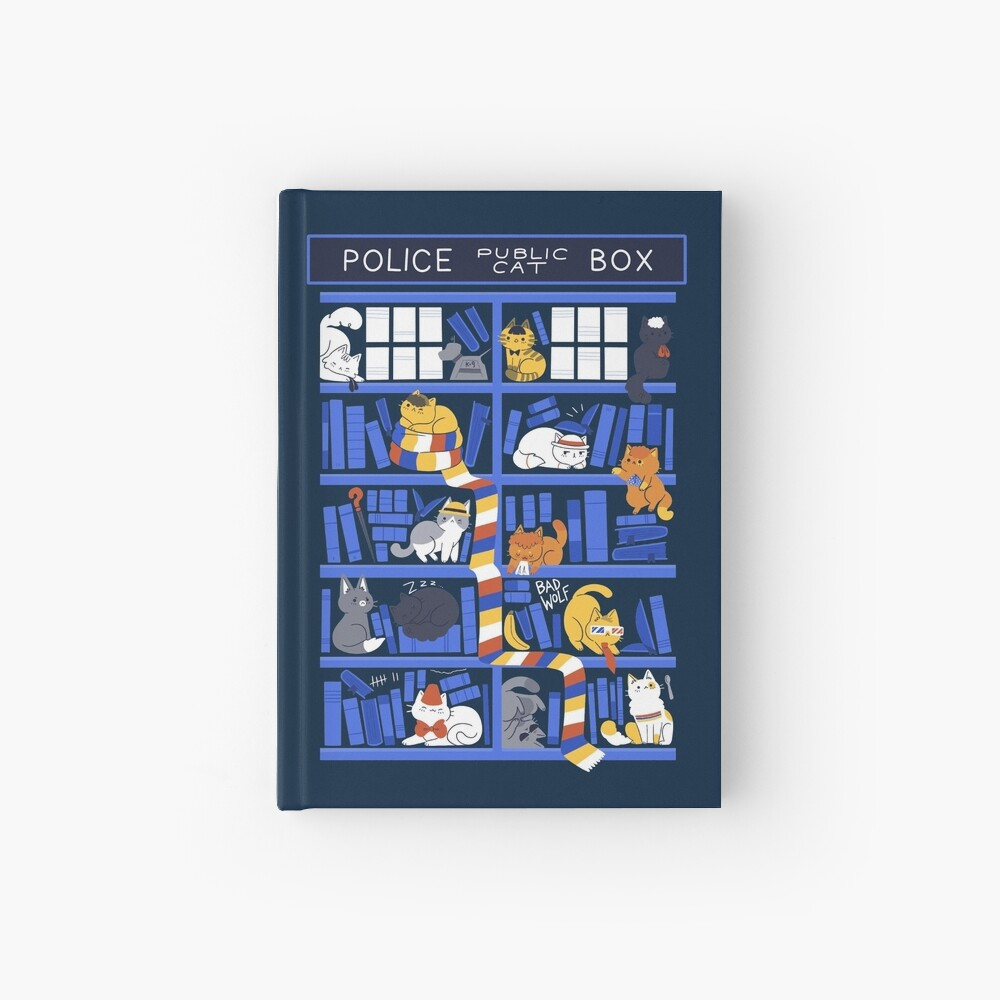 Library Box Who Hardcover Journal