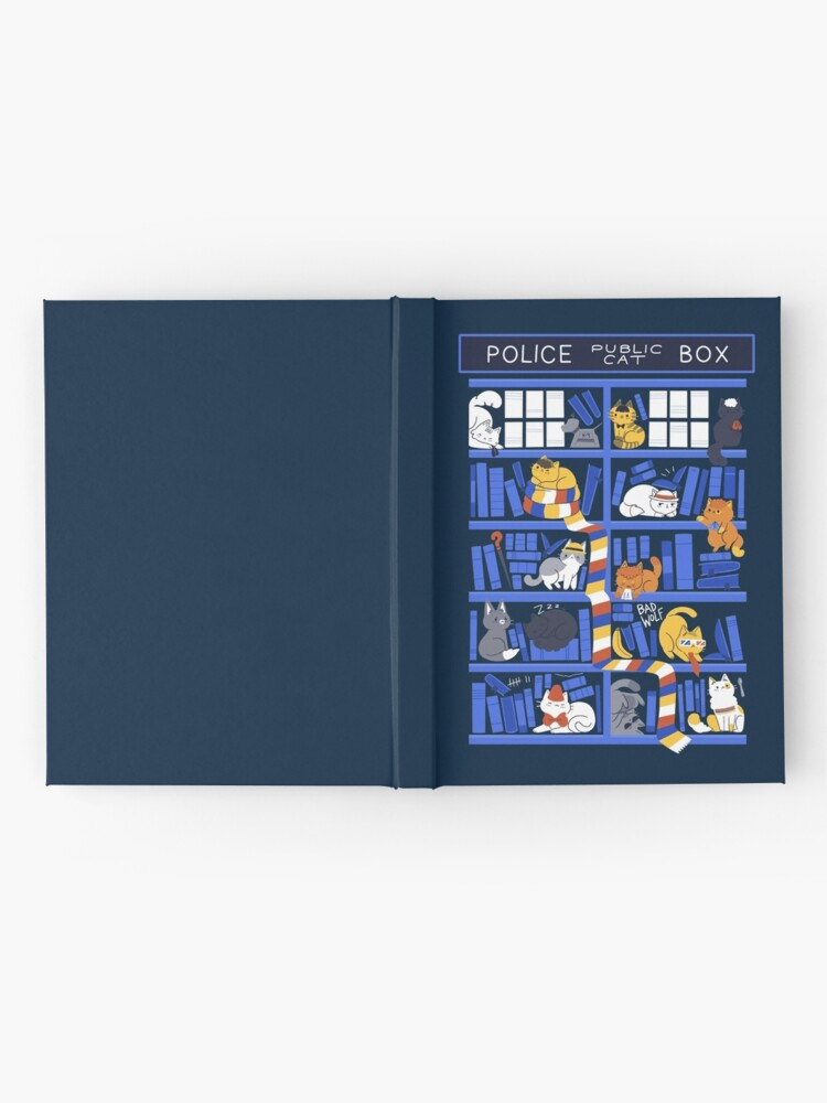 Alternate view of Library Box Who Hardcover Journal