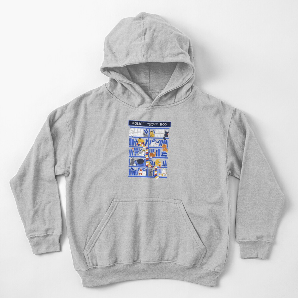 Library Box Who Kids Pullover Hoodie