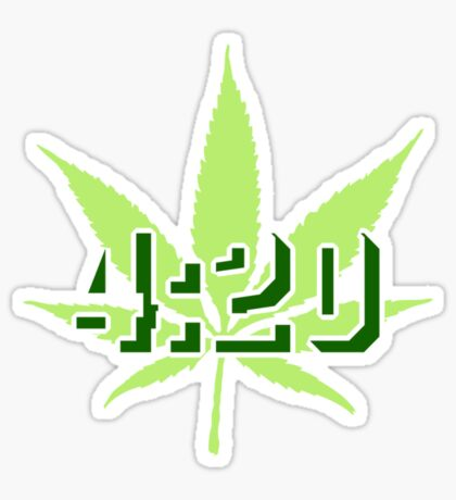 4:20 - Legalize Cannabis VRS2 Sticker