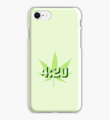 4:20 - Legalize Cannabis VRS2 iPhone Case/Skin