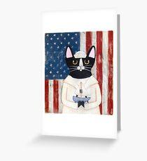 American Sailor Greeting Card