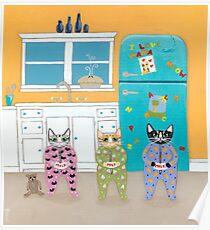 The Cats Pajamas Poster
