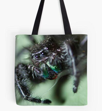 Phidippus audax Tote Bag