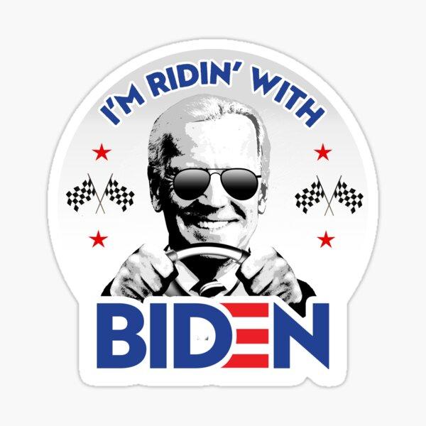 I'm Ridin' With Biden Sticker