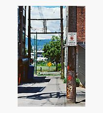 Urban Frame for a Tree Photographic Print