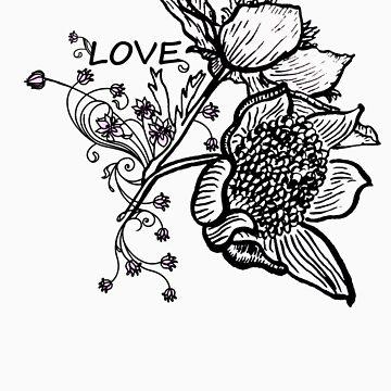 Flowers by purplesmoke17