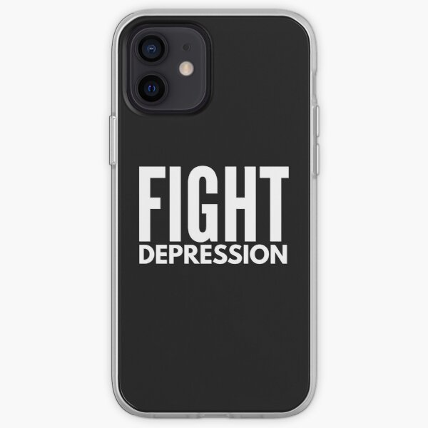 fight depression iPhone Soft Case