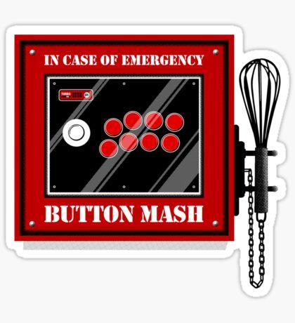 Button Mash Sticker