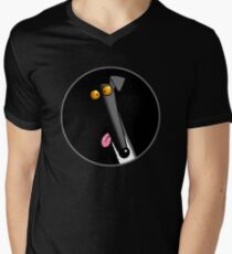 Derp in the Dark Men's V-Neck T-Shirt