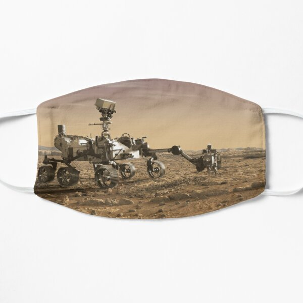 Mars 2020 Rover Flat Mask