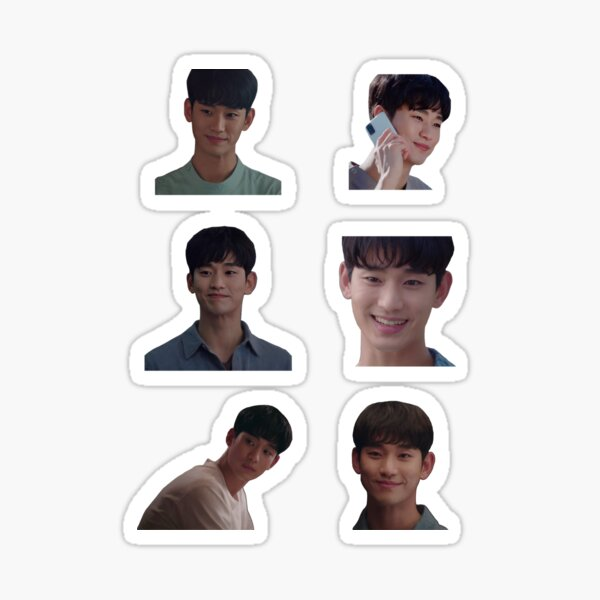 Kim Soo Hyun Cute Sticker Pack Sticker