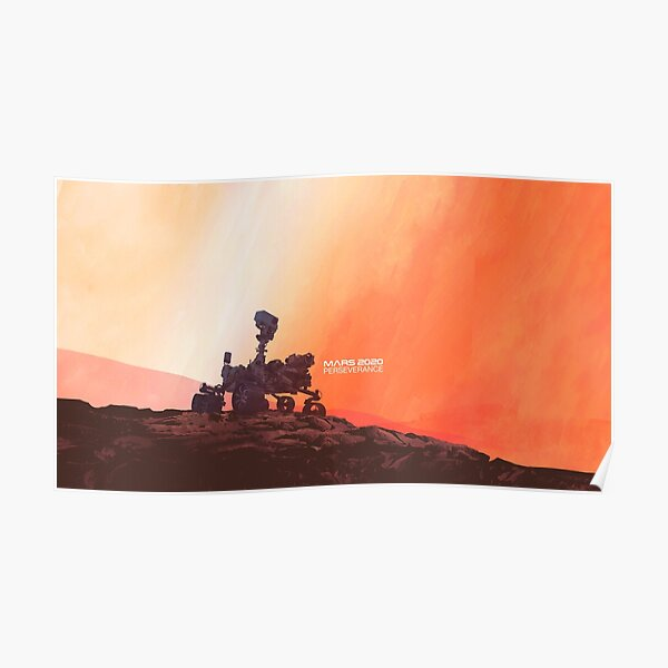 Mars Perseverance Rover Poster
