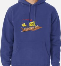 7th to the 4th century BCE Greek Trireme T-shirt Hoodie