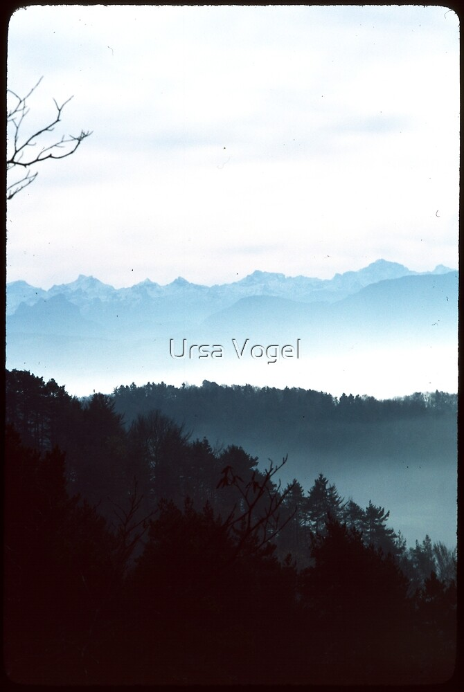 1988 - fernsicht by Ursa Vogel