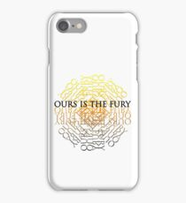 Stag Ours is the Fury iPhone Case/Skin